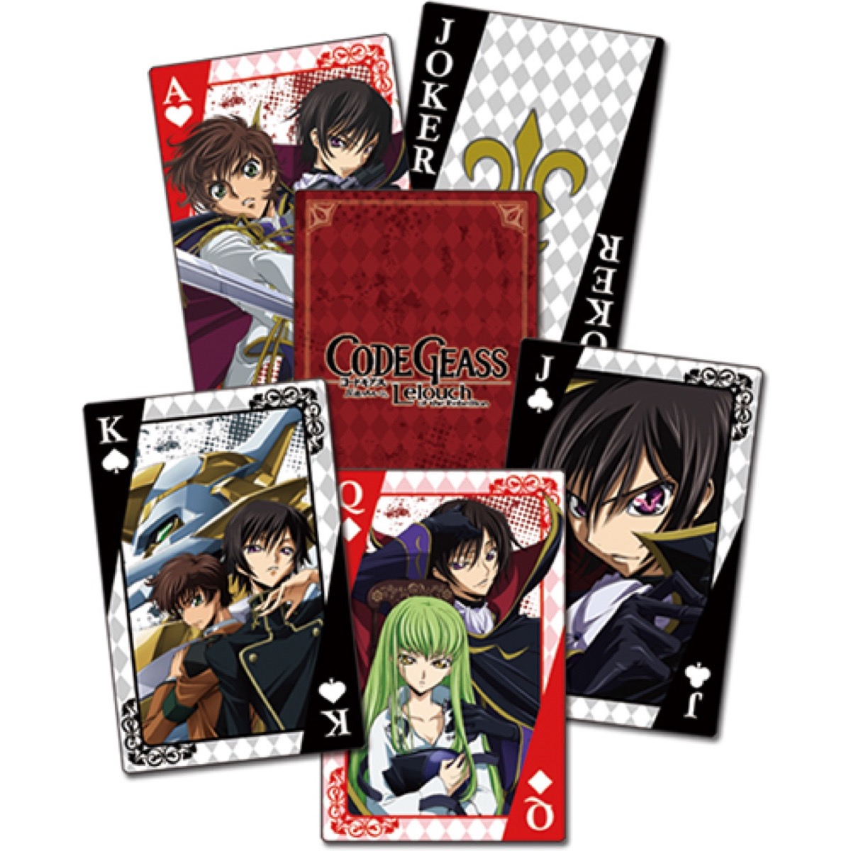 Group Playing Cards Seraph Of The End
