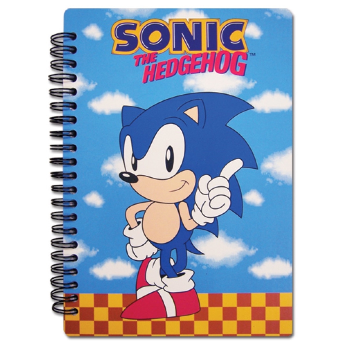 Classic Sonic Pointing Notebook Anime And Things